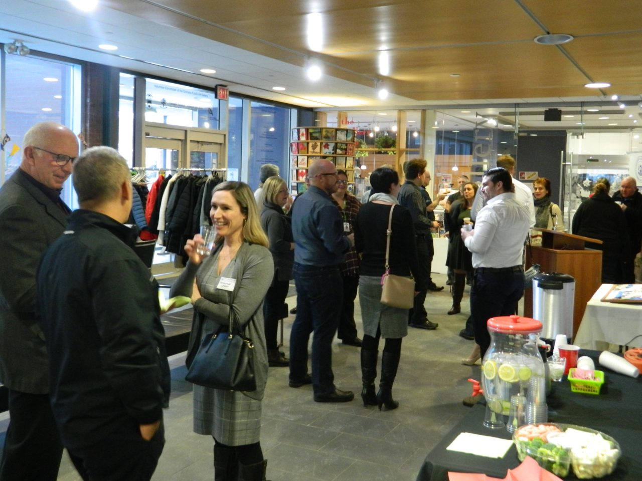 February 27 Business After 5 at Grimsby Public Library and Art Gallery