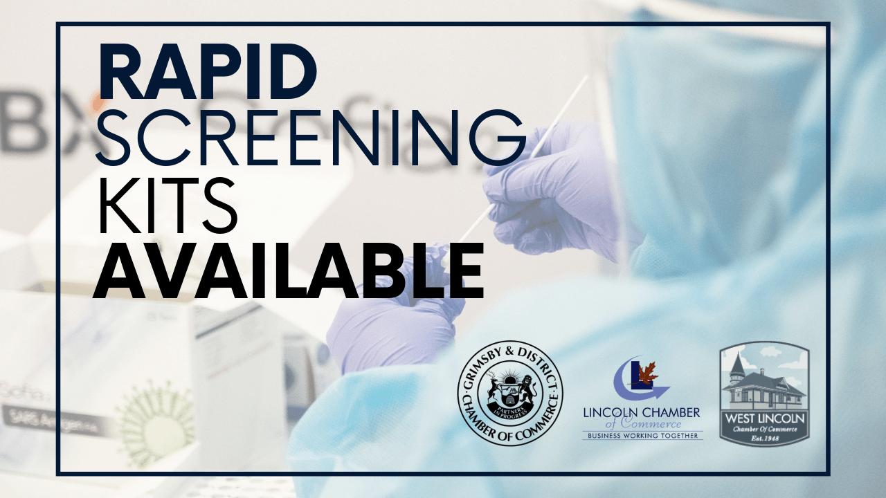 COVID-19 Rapid Screening Kits